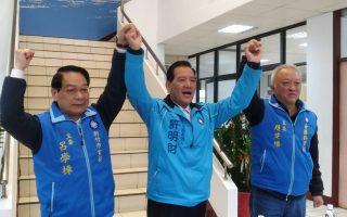 獲提名參選新竹市長許明財   為老人年金一事道歉
