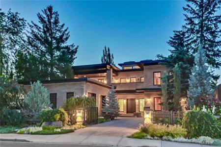 卡爾加里房產經紀劉寶倫幫助客戶以$318萬購買的曾標價$600萬的豪宅