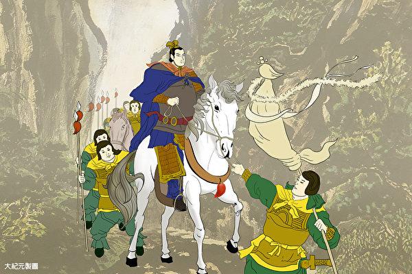 韓信有近乎神明的才學,有得天下的實力和聲望,卻沒有追名逐利的野心。(大紀元製圖)
