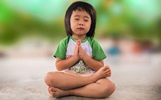 和孩子一起練習靜觀冥想