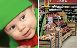 人生第一次逛超市 这个一岁宝宝的反应让你笑不停