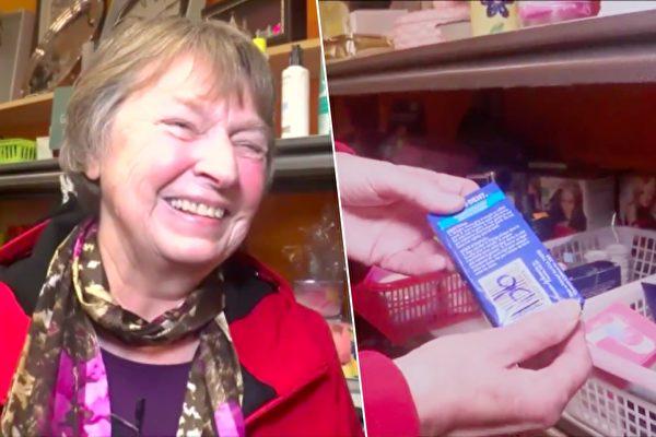老婦5毛錢買了一盒棉棒 打開後裡面的物品讓她瞬間石化