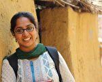 在寧靜的龐迪海灘 印度女記者邂逅最美的朝陽