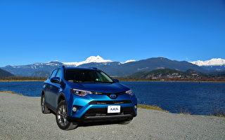 车评:最爱银蓝 2018 Toyota RAV4 Hybrid