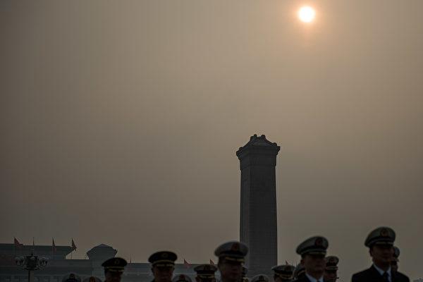 中共國務院新人事塵埃落定,外界關注未來美中台三方關係如何發展。 (Etienne Oliveau/Getty Images)