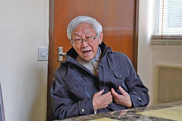 陈日君谴责青关会滋扰法轮功 祸害香港