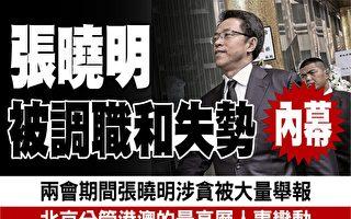 前中联办主任张晓明被调职及失势内幕