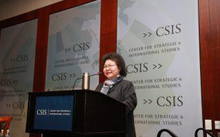 美國演講 陳菊提「台灣新亞洲價值」