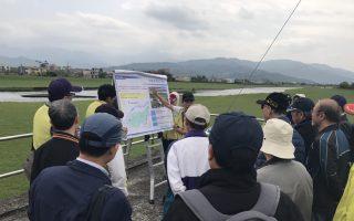 工程師響應世界水資源日  齊聚蘭陽溪觀摩流域治理