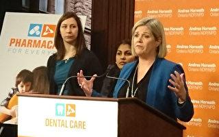 新民主党推出全民牙医保健