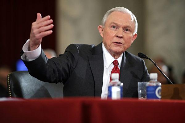 美前司法部长塞申斯宣布竞选联邦参议员