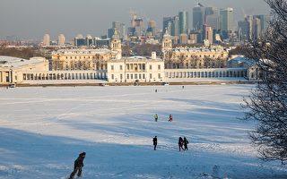 大雪襲擊英國 五年來最冷一週