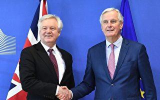 英脫歐過渡期協議草案達成 只剩貿易談判