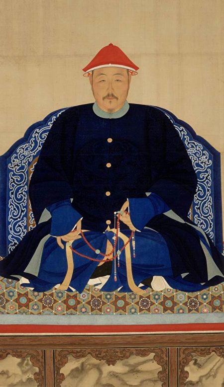 清太宗常服袍褂像。(公有领域)