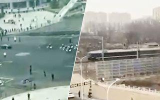 传金正恩秘密抵京 鸭绿江大桥封闭北京封路