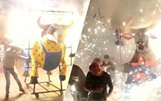 狂甩霉運 墨西哥這座城市深夜上演這齣戲 超熱鬧