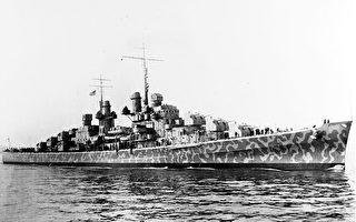 美二战巡洋舰残骸现海底 曾遭日本鱼雷击沉