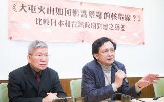 台湾大屯活火山 核一核二厂隐忧