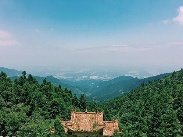 圣德太子在中国累世转生,多世在中国衡山修行。(公有领域)