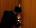 习近平连任国家主席及军委主席,其紧密盟友王岐山任国家副主席。(FRED DUFOUR/AFP/Getty Images)