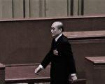 中共司法部长张军在被要求罢免声中当选中共最高检察院检察长。(Etienne Oliveau/Getty Images)