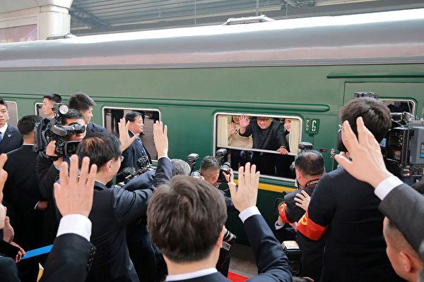 日媒:金正恩访华返国 专列21节车厢装厚礼