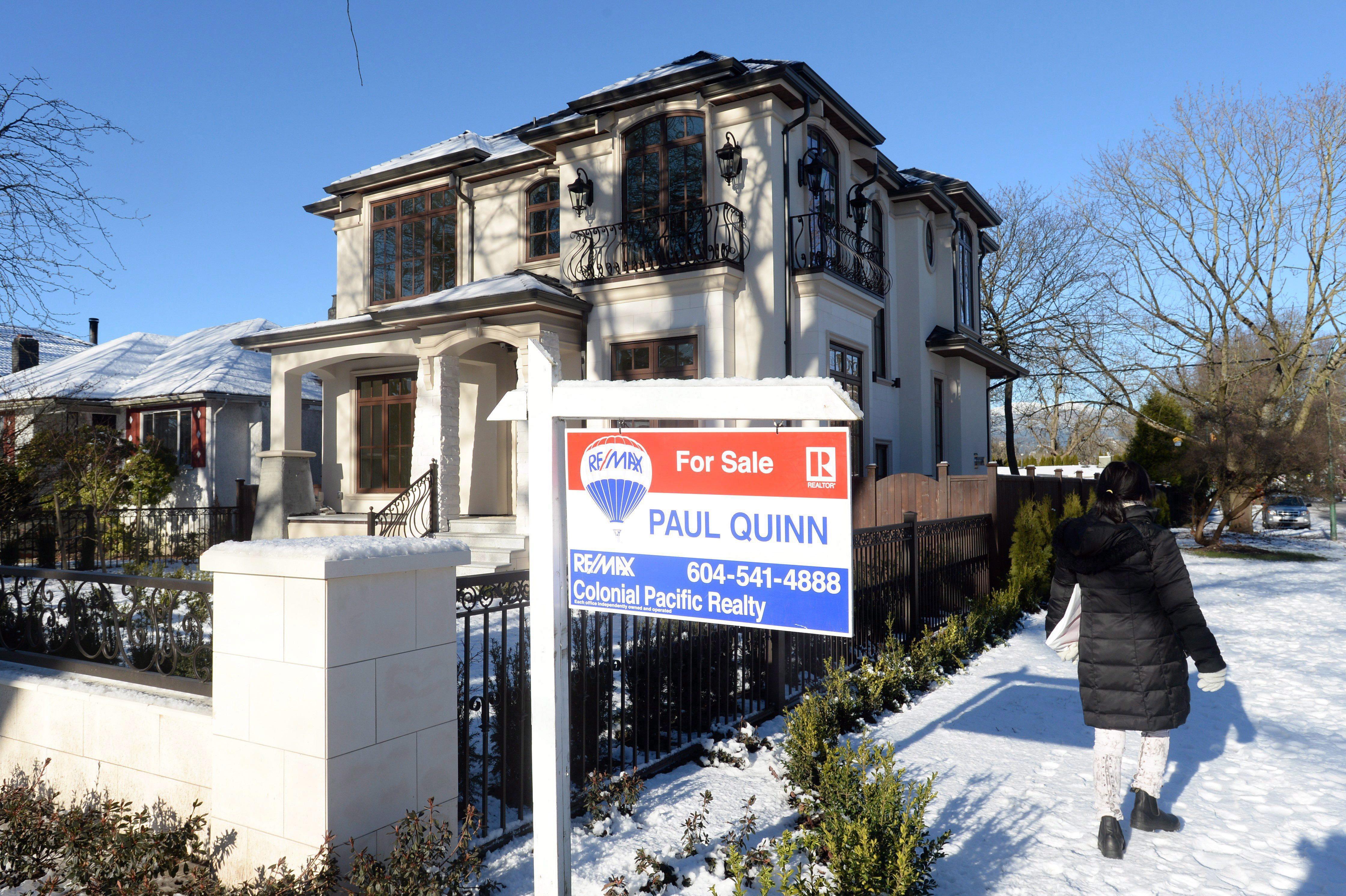 加拿大3月份房市 量价跌幅均超两位数