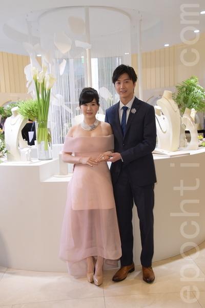 江宏杰 & 福原爱 出席MIKIMOTO 125周年 顶级珠宝展