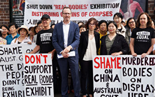 澳媒再關注悉尼「人體展」 議員推動議譴責