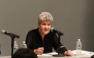 紐約市城市規劃局主任Marisa Lago在2020人口普查研討會上。(大紀元)