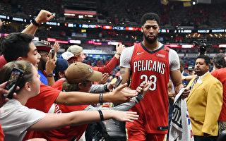 NBA季后赛首轮 鹈鹕横扫开拓者率先晋级