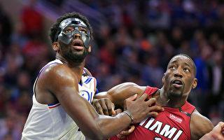 NBA季后赛 费城76人4比1淘汰迈阿密热火