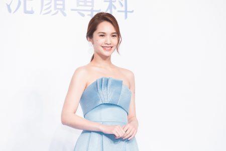 艺人杨丞琳11日出席代言记者会。