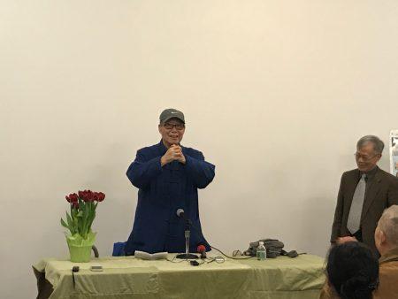 文学大师王鼎钧。