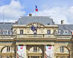 法國最高行政法院(Conseil d'Etat)正門。(關宇寧/大紀元)