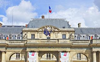 法国最高行政法院(Conseil d'Etat)正门。(关宇宁/大纪元)