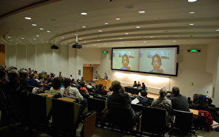 加亚伯塔大学放映《难以置信》揭中共活摘罪
