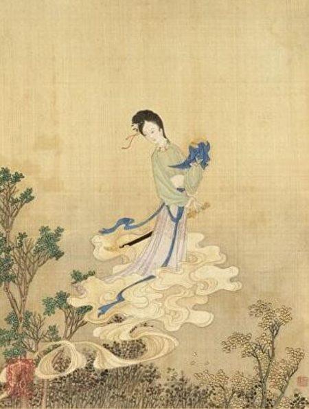 图为清 赫达资《丽珠萃秀册.唐红线》台北国立故宫博物院藏。(公有领域)