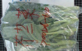 北市蔬果抽验 云林芥蓝混用5药