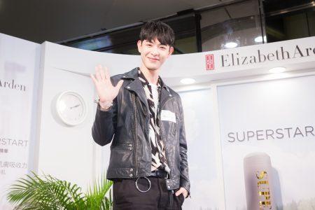 SpeXial前成员晨翔20日出席保养品活动担任一日店长。