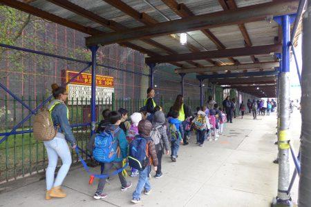 市教育局资料显示,公校104小学拥有20%的华裔学生。