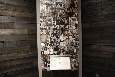 位于纽约曼哈顿下东城的犹太人大屠杀纪念馆中一角。