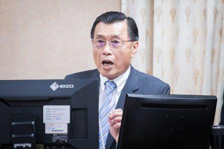 國安局長彭勝竹16日表示,這次中共所宣告的演習,實施區域跟時間都不大、不長,按照往年經驗來看,只是例行性的演習。