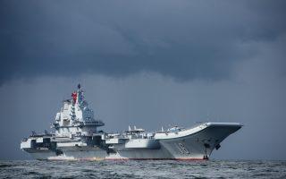 中共双航母军演 引起美国关注