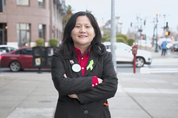 舊金山市長選舉唯一華裔候選人——李愛晨