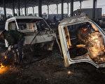 数据显示,流入到正规报废汽车拆解厂的报废汽车,占比不到30%。(Kevin Frayer/Getty Images)