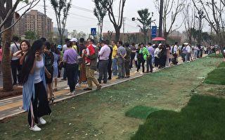 近日,安徽六安市数百名教师讨薪被镇压,在舆论压力下,安徽省政府发文道歉,但不被学者看好。(受访者提供)