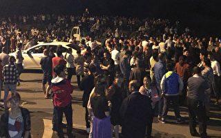 湘万民堵路抗议建垃圾焚烧项目 警察乱抓人