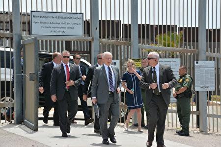 美国司法部长塞申斯的强调对非法移民零容忍