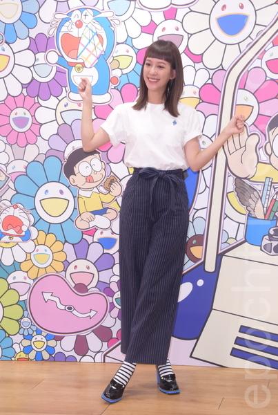 UNIQLO西門店四樓舉行哆啦A夢x村上隆聯名UT系列名人搶先看派對